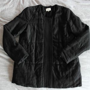 Wilfred Black quilted jacket (Size 2)